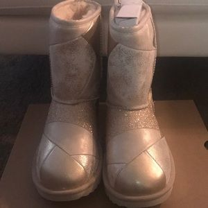 Glittered ugg boots